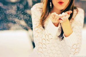 Притча о двух снежинках
