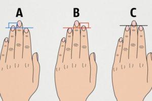 Вот что длина пальцев руки говорит о вашем характере
