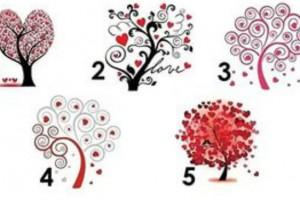 Тест: Дерево любви.