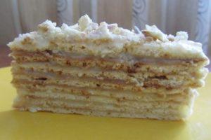 Торт, который готовится без духовки.