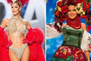 Финалистки конкурса «Мисс Вселенная» в национальных костюмах. Глаз не отвести!