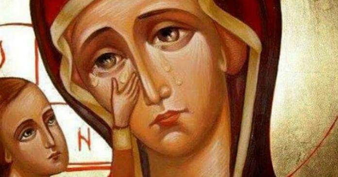 Молитва, когда на душе тяжело и хочется плакать