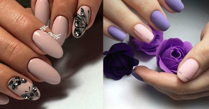 Маникюр цвета «Пыльная роза» — стильно, нежно, женственно!