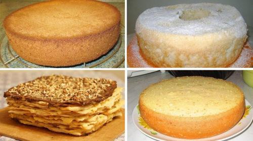 Лучшие коржи для тортов. 3 рецепта приготовления