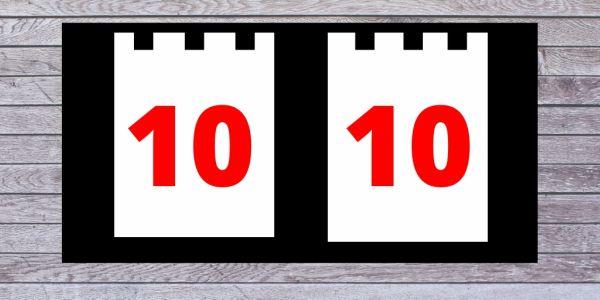 Зеркальная дата октября 10:10 — как привлечь деньги, удачу и любовь