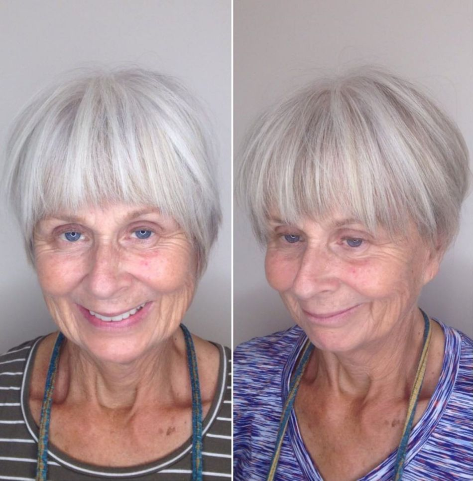 Красивые стрижки для женщин в возрасте