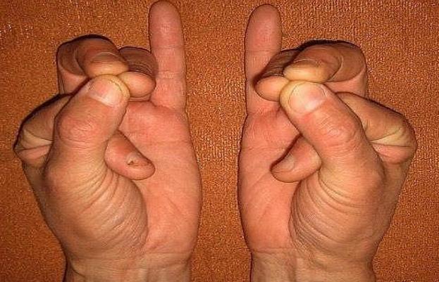 Сложите пальцы